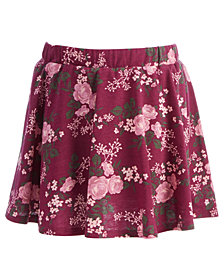 Epic Threads Little Girls Floral-Print Scooter Skirt, Created for Macy's
