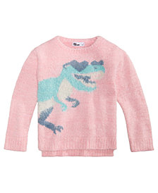 Epic Threads Little Girls Graphic Sweater, Created for Macy's