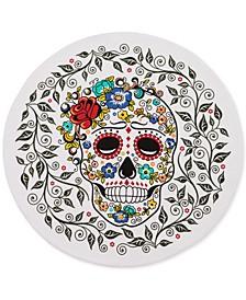 "Sugar Skull  15"" Round Placemat"