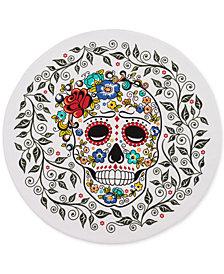 """Fiesta Sugar Skull  15"""" Round Placemat"""