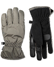 Isotoner Men's Touchscreen Gloves