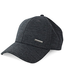 Sean John Men's Heathered Adjustable Baseball Cap