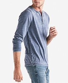 Lucky Brand Men's Long-Sleeve Burnout Henley