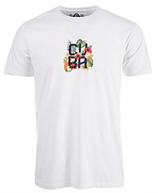 American Rag Men's Cuba Floral T-Shirt, Created for Macy's
