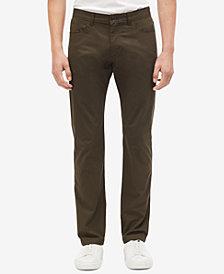 Calvin Klein Men's Sateen Bowery Casual Pants