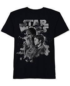 Star Wars Big Boys Galaxy Heroes Graphic Cotton T-Shirt