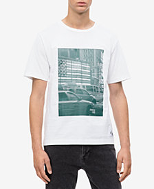 Calvin Klein Jeans Men's Pixelated Graphic T-Shirt