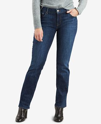 Levi S 505 Straight Leg Jeans Amp Reviews Jeans Women