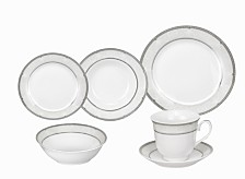 Lorren Home Trends Bolla 24-Pc. Dinnerware Set, Service for 4