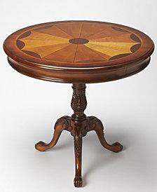 Carissa Round Pedestal Table, Quick Ship