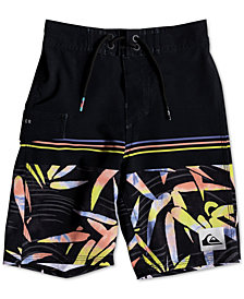 Quiksilver Toddler Boys Highline Zen Printed Swim Trunks