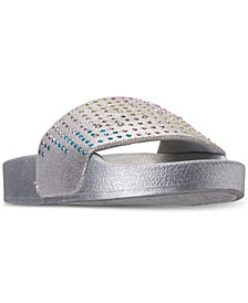 Steve Madden Little Girls' JBrites Casual Athletic Slide Sandals from Finish Line