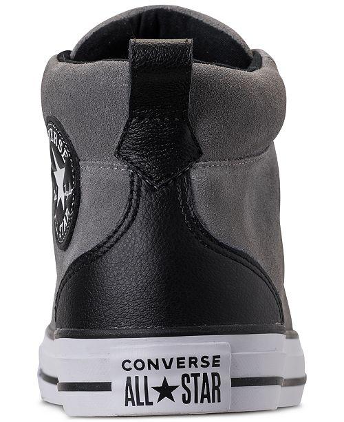 49d2a7d93b20 ... Converse Men s Chuck Taylor Street Mid Varsity Jacket Casual Sneakers  ...