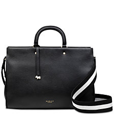 Radley London Multiway Grab Compartment Leather Satchel