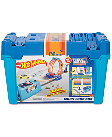 Mattel Hot Wheels Track Builder System Multi-Loop Box