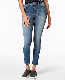 Vanilla Star Juniors' High-Rise Ankle Skinny Jeans