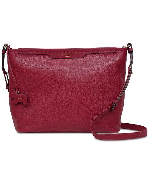 1dcd78405753 Radley London Zip-Top Leather Crossbody Bag & Reviews ...