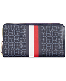 Tommy Hilfiger Roma Signature Wallet, Created for Macy's
