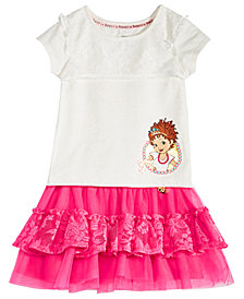 Disney Little Girls 2-Pc. Fancy Nancy T-Shirt & Skirt Set