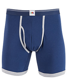 Fruit of the Loom Men's 3-Pk. Cotton Limited Edition Boxer Briefs