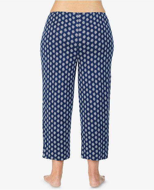 2d056f96147c Intimates & Sleep Ellen Tracy Plus Polka Dot Print Pajama Pants