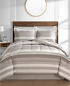 Austin 8-Pc. Reversible Bedding Ensembles, Created for Macy's