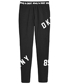 DKNY Big Girls Logo Leggings