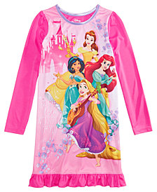 Disney Little & Big Girls Disney Princesses Nightgown