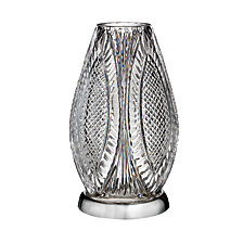 """Waterford Master Craftsman Reflections Crystal Hurricane 12"""""""