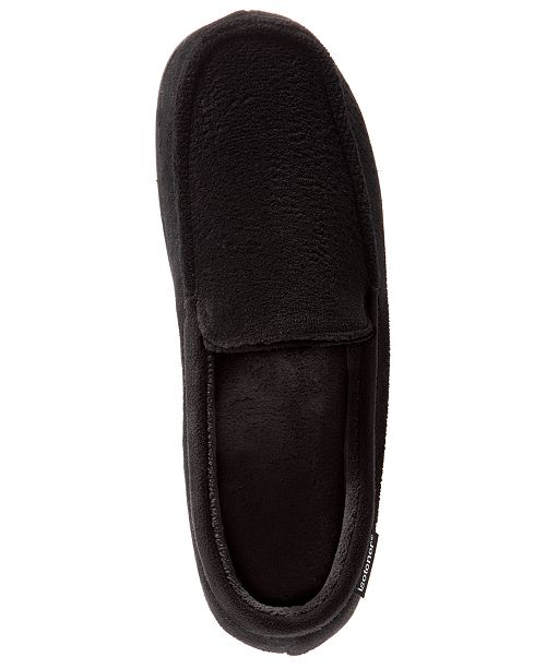 Totes Isotoner Microterry Moccasin with Gel Infused Memory Foam