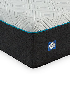 "Sealy to Go 12"" Memory Foam Mattress, Quick Ship, Mattress in a Box- Twin"