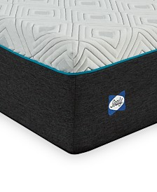"Sealy to Go 12"" Plush Memory Foam Mattress, Quick Ship, Mattress in a Box- Twin"