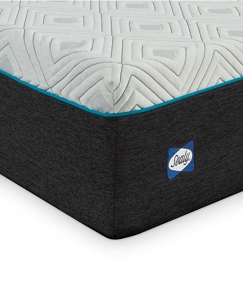 """Sealy to Go 12"""" Plush Memory Foam Mattress, Quick Ship, Mattress in a Box- Twin XL"""