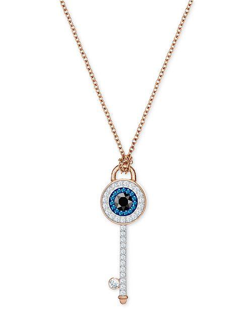 Swarovski Rose Gold-Tone Crystal Evil Eye   Key 14-3 4