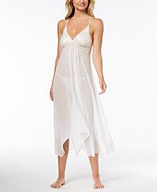 Linea Donatella Keepsake Lace-Trim Nightgown