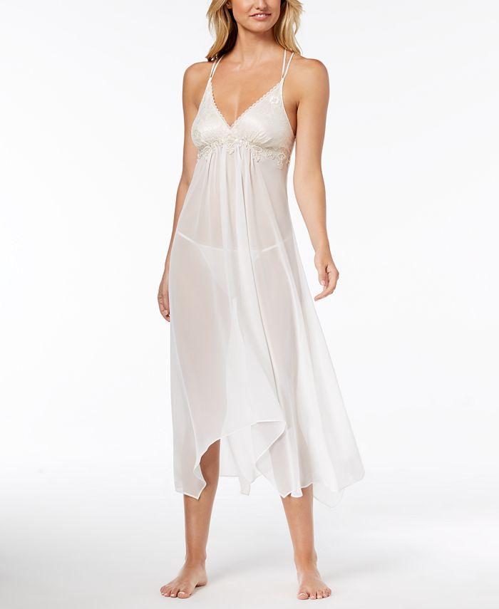 Linea Donatella - Keepsake Lace-Trim Nightgown