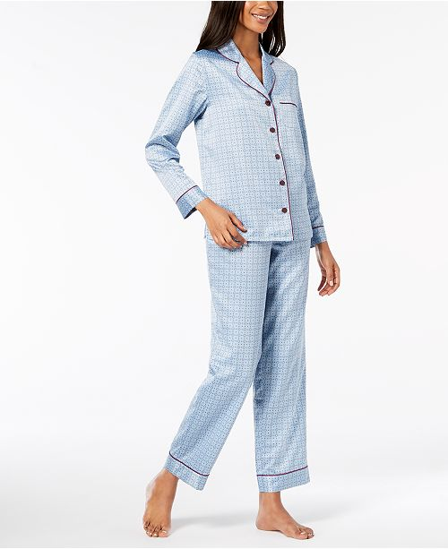 Macy's Printed for Medallion Created Set Mini Alfani Pajama qCPxSHOwHX