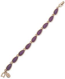 Ivanka Trump Gold-Tone & Stone Flex Bracelet