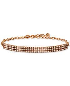 Diamond Pavé Bracelet (3 ct. t.w.) in 14k Rose Gold