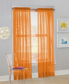 "No. 918 Calypso 59"" x 84"" Sheer Curtain Panel"