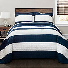 New Berlin Stripe Quilt 3Pc Sets