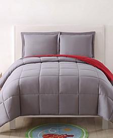 Reversible 3 Pc Twin XL Comforter Set