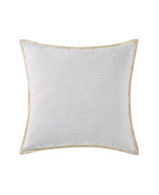 "Oceanfront Resort Cove Seafoam 20"" Square Decorative Pillow"