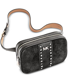 MICHAEL Michael Kors Studded Fanny Pack, Created for Macy's