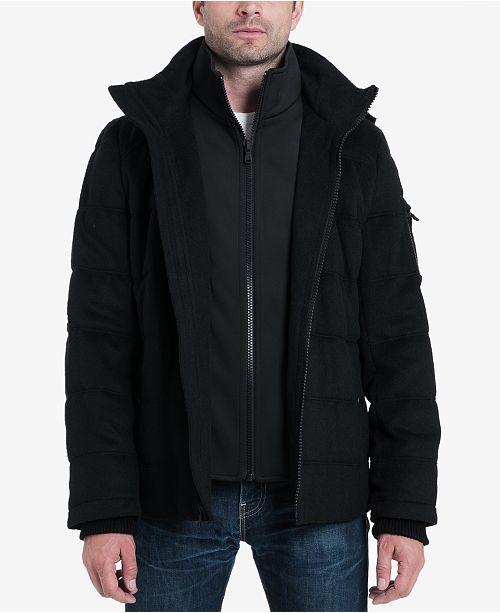 Michael Kors Men's Hooded Puffer Jacket