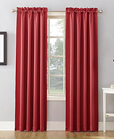 "Sun Zero Grant Room Darkening Pole Top 54"" x 108"" Curtain Panel"