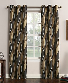 Intersect Geometric Print Curtains