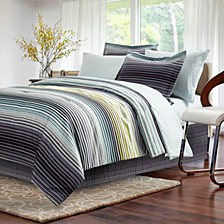 Strata Dark Charcoal 8-Piece Bed-In-Bag, Full