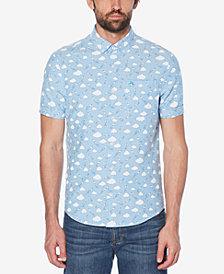 Original Penguin Men's Slim-Fit Cloud-Print Shirt
