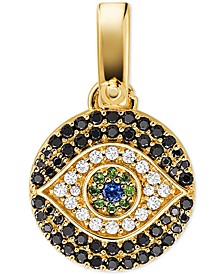 Women's Custom Kors 14K Gold-Plated Sterling Silver Evil Eye Charm
